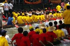 Barca del drago a Guangzhou Immagini Stock Libere da Diritti