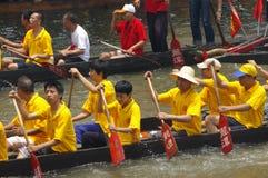 Barca del drago a Guangzhou Immagine Stock