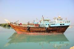 Barca del Fisher Fotografia Stock