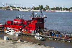 Barca del fiume Mississippi Immagine Stock