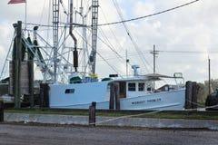 Barca del gamberetto della Luisiana immagini stock libere da diritti