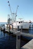 Barca del gambero Fotografia Stock