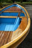 Barca del gozzo in Portovenere Fotografia Stock