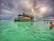 Barca del partito Fotografia Stock