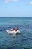 Barca del pedale fotografie stock