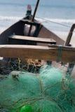 Barca del pescatore Fotografia Stock Libera da Diritti