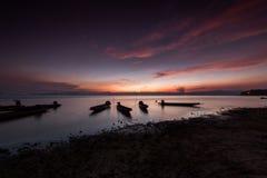 Barca del pescatore, Tailandia Fotografia Stock Libera da Diritti