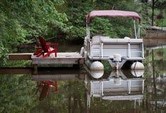 Barca del pontone fotografia stock