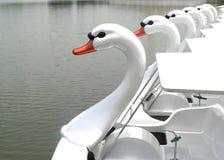 Barca dell'anatra di divertimento Fotografie Stock Libere da Diritti