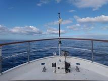 Barca dell'oceano fotografia stock libera da diritti