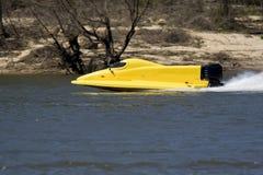 Barca della corsa Fotografia Stock Libera da Diritti
