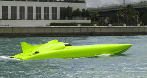 Barca della corsa della sigaretta - 2 Fotografia Stock Libera da Diritti