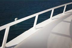 Barca della piattaforma di passeggiata Immagini Stock