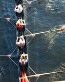 Barca della squadra Fotografie Stock