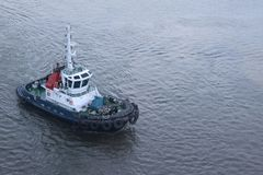 Barca della tirata Fotografia Stock