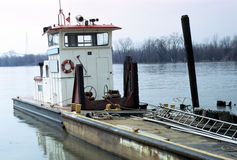 Barca della tirata Fotografia Stock Libera da Diritti