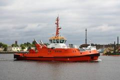 Barca della tirata Immagini Stock