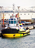 Barca della tirata Immagine Stock