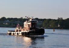 Barca della tirata Fotografie Stock
