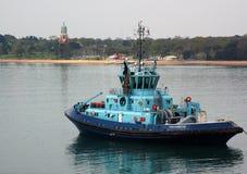 Barca della tirata di Southampton Fotografia Stock Libera da Diritti