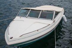 Barca dettagliatamente sul mare fotografie stock libere da diritti