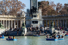 Barca di amore in un parco Immagine Stock Libera da Diritti