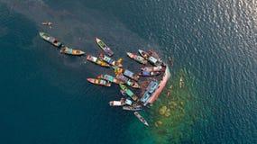 Barca di arresto Immagini Stock