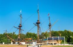 Barca di avanzamento in Voronež, Russia di Predestinatsia fotografia stock