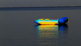 Barca di banana Fotografia Stock