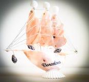 Barca di Barcellona Immagine Stock