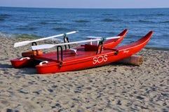 Barca di Baywatch   Fotografie Stock Libere da Diritti