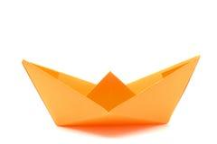Barca di carta Immagini Stock Libere da Diritti