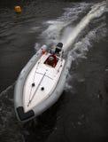 Barca di corsa Immagine Stock Libera da Diritti