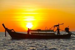Barca di distensione Immagini Stock