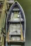 Barca di fila Fotografia Stock
