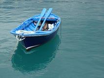 Barca di fila Immagini Stock