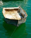 Barca di fila traballante fotografie stock libere da diritti