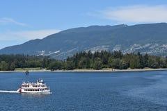 Barca di giro del porto di Vancouver Fotografia Stock