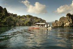 Barca di giro di Busuanga Fotografia Stock Libera da Diritti