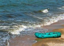 barca di gomma Fotografie Stock