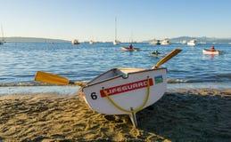 Barca di guardia di vita Vancouver Fotografia Stock