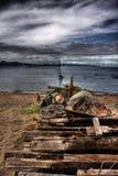 Barca di HDR Immagine Stock