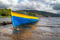 Barca di Killarney Fotografia Stock
