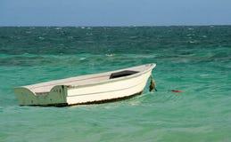 Barca di legno bianca Immagine Stock Libera da Diritti
