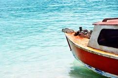 Barca di legno Colourful immagini stock