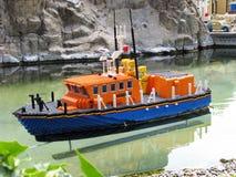 Barca di Lego Fotografia Stock