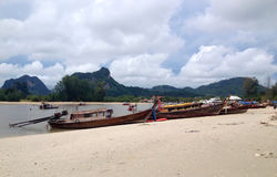 Barca di Longtail immagine stock libera da diritti