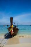 Barca di Longtail a Phuket Fotografia Stock