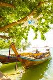 Barca di Longtail in Tailandia immagine stock libera da diritti