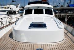 Barca di lusso 01 Fotografie Stock Libere da Diritti